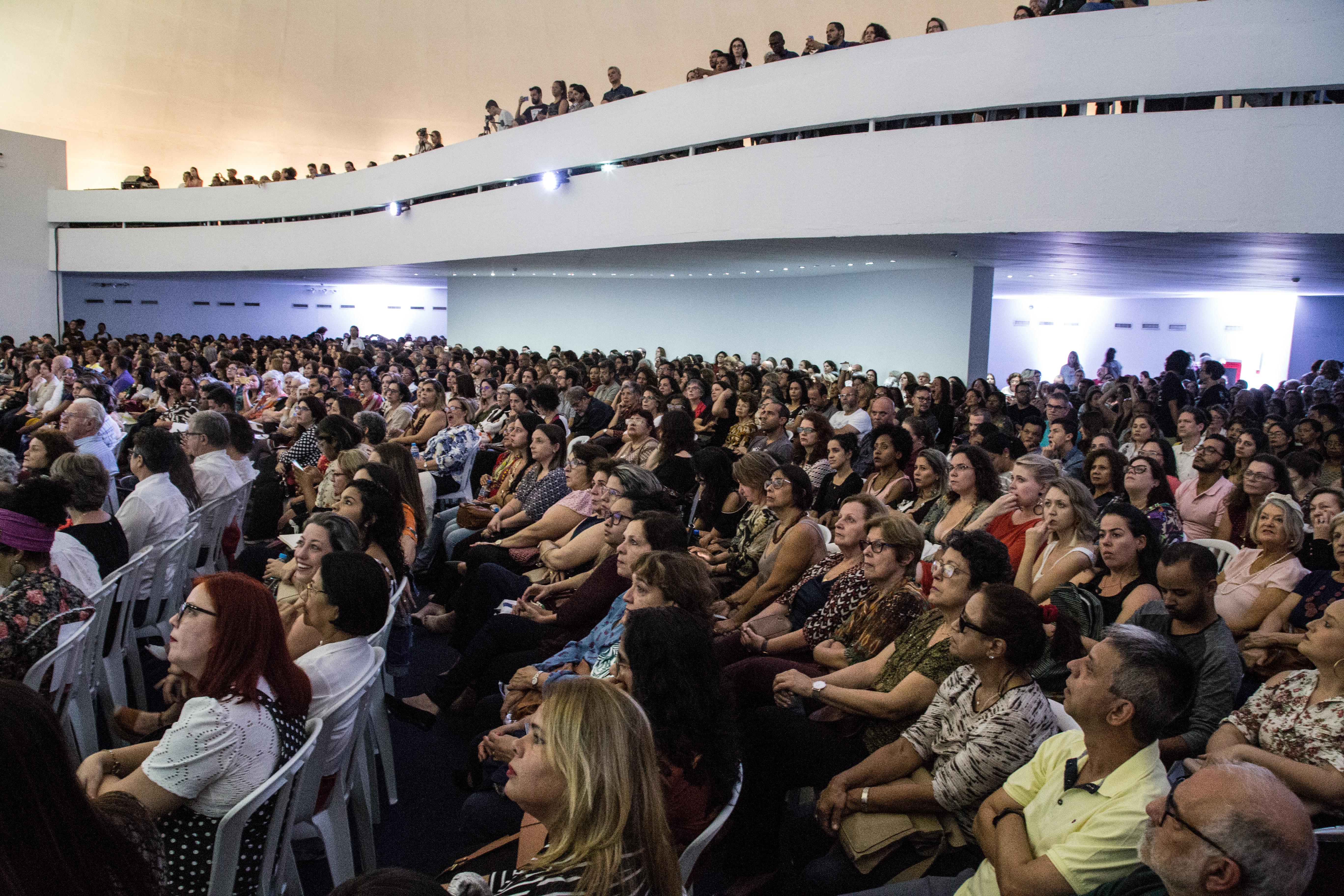 Fotografia do público durante a Abertura da 39ª Reunião Nacional da ANPEd